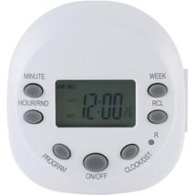 GE 15154 7-Day Random On/off 1-Outlet Plug-in Digital Timer - $30.94