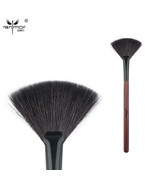 Goat Hair Fan Brush High Quality Make Up Brushes for Daily or Professional - $11.97