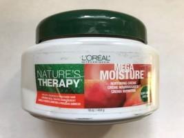 L Oreal Natures Therapy Mega Moisture Nurturing Creme 16 oz - $15.63