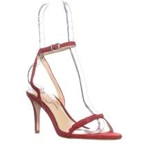Jessica Simpson Purella Heeled Sandals, Ruby, 7 US - $38.39
