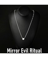 White Witch MIRROR EVIL Ritual Charm Talisman Reflect Bad Karama DRAW GO... - $28.61