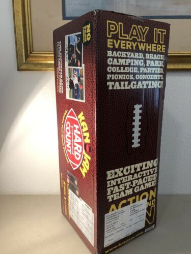 Kan Jam Hard Count Fast Paced Football Game Set w/ 2 Goals NEW factory sealed
