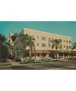 Vintage Postcard The Bond Hotel St. Petersburg Florida Unused Roadside A... - $6.92
