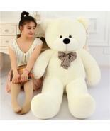 """Giant White Plush Teddy Bear 47"""" 120CM Big Stuffed Animal Huge Cuddly So... - $54.85"""