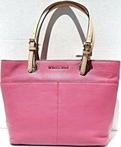 NEW! Michael Kors Bedford Genuine Leather Pocket TOTE - $267.18