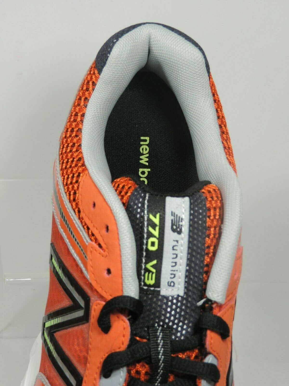 New Balance Men's Shoes M770CT3 Athletic Running Sneakers Red Black Mesh image 3