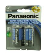 Panasonic Batteries C 2-Pack Super Heavy Duty Batteries   - $5.10