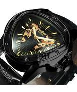 WINNER 2020 Men's automatic mechanical, luxury, skeleton, triangle watch... - $39.99