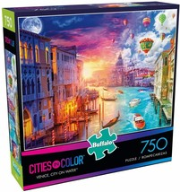 NEW Buffalo Games Venice City on Water ~ 750 Piece Jigsaw Puzzle play kids table - $20.21