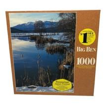 MB Hasbro Big Ben 1000 Piece Jigsaw Puzzle Indian Valley California New ... - $19.99