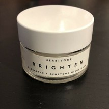 Herbivore BRIGHTEN Pineapple Enzyme And Gemstone Brightening Mask .5 oz