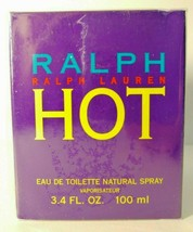 Ralph Lauren  Hot 3.4oz / 100ml Women's Eau de Toilette Discontinued HTF - $183.15
