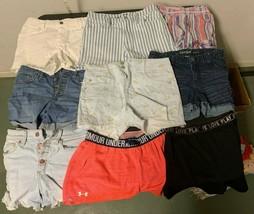 Lot Girls Summer Shorts Jeans Athletic Fashion Nine (9) Pairs - $79.19
