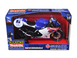 "Suzuki GSX-R1000 #6 ""Makita, Suzuki, Rockstar\"" Bike Motorcycle 1/12 by... - $23.74"