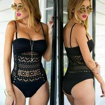 Fashion Womens One-piece Swimsuit Swimwear Push Up Monokini Bathing Suit Bikini image 8