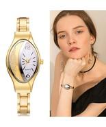 Yuhao® Women Bracelet Watch Gold Fashion Luxury Stainless Steel Wrist Rh... - $5.17+