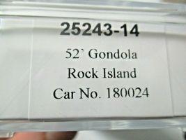 Trainworx Stock # 25243-13 to -18  Rock Island 52' Gondola N-Scale image 6