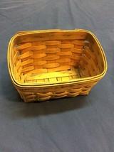 longaberger basket (stains/wear) - $4.99