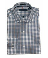 Tommy Hilfiger Men's Non Iron Regular Fit Spread Collar Shirt, XXL, Blue... - $29.99