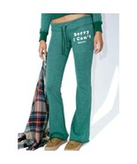 Women's Green Wildfox Couture Sorry I Can't Tennis Club Pants sz L - $47.34