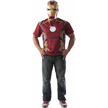 Avengers Ironman T-Shirt Men's Adult Dress Up / Role Play Costume M (32/34) - $22.99