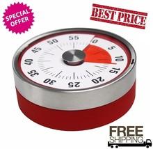 Mechanical Cooking Alarm Counter Clock Baking Reminder Manual Countdown ... - $17.75