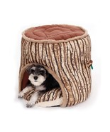 Special Design Pet Bed Soft Dog House Tree Hole Design Dog Kennel Thicke... - $38.60