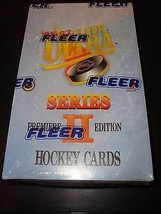 1992-93 Fleer Ultra NHL Hockey Unopened Factory Sealed Box 36 Packs MINT... - $19.99