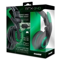 Wired Gaming Headset For Xbox One Foldable In Line Volume Mute 3.5 Dream... - $40.99
