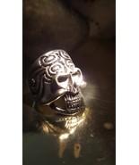 HAUNTED Djinn ring of the sun, Aztec spirit of Dragon MAGICK, haunted ring genie - $433.97