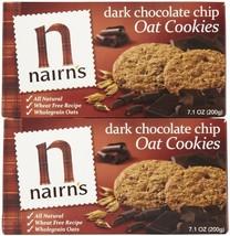 Nairn's Oat Cookies w/ Dark Chocolate Chips, 7.1 oz, 2 pk - $39.22