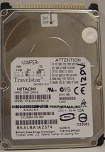 "DK23FA-20J Hitachi HTA422020F9ATJ0 20GB IDE 44pin 2.5"" Free Ship Our Drives Work"