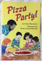 "Pizza Party! BIG Book Paperback 18"" Tall Class Size Teacher Copy Circle ... - $16.61"