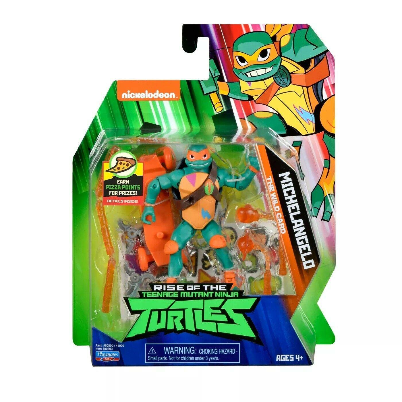 Rise of the Teenage Mutant Ninja Turtles Michelangelo Figure NIB/Sealed