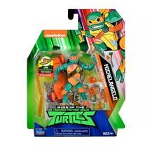 Rise of the Teenage Mutant Ninja Turtles Michelangelo Figure NIB/Sealed - $12.99