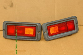 Mitsubishi Nativa Montero Sport Euro Rear Bumper Fog Light Panel 97-99 Set L&R image 1