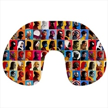 Travel neck pillow inflatable capain america avengers hulk - $20.00