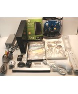 Nintendo Wii Softmodded 320gb Hard Drive Remote Nunchuck Motion Plus and... - $219.99