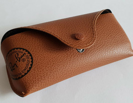 Ray Ban Sunglasses Glasses Wayfarer Case - Brown Leatherette - $18.86