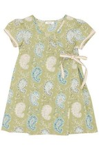 BOUTIQUE HIGH END NORDSTROM FERD INFANT GIRL KIMONO WRAP SPRING DRESS $1... - $37.61