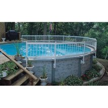 Above Ground Pool Fence Kit Barrier Safety Fencing 8 Section - $289.00