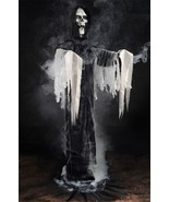 Life Size-STANDING REAPER FOG MACHINE ACCESSORY-Zombie Horror Haunted Ho... - $76.20