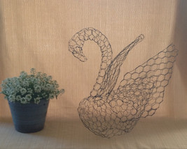 Small Swan Topiary Frame - $45.00