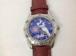 Chicago Cubs Mlb Watch Sammy Sosa By Home Run Hero 1998 - Avon Leather Band Nib - $28.00