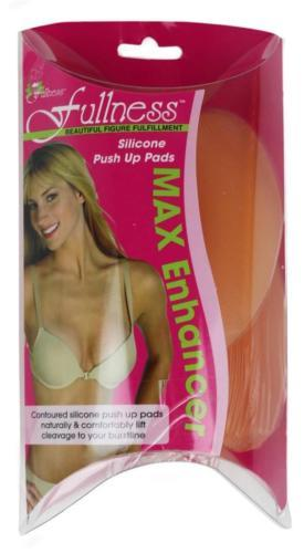 NEW WOMEN'S FULLNESS MAX BRA CLEAVAGE ENHANCER PADS SIZE B/C STYLE #1006A
