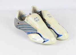 new style 7c0ad 354de Vintage New Adidas Mens 11.5 Tunit F 50 ClimaCool Soccer Upper Cleats Wh..