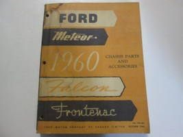 1960 Ford Meteor Falcon Frontenac Chassis Parts & Accessories Manual Oem Book - $49.45