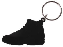 Good Wood NYC Tarheel Carolina Blue 9 Sneaker Keychain White/ Key Ring key Fob image 2