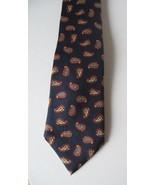 Silk Tie 100% Formal Navy Blue / Paisley Men's  Formal Cravatte - $12.35