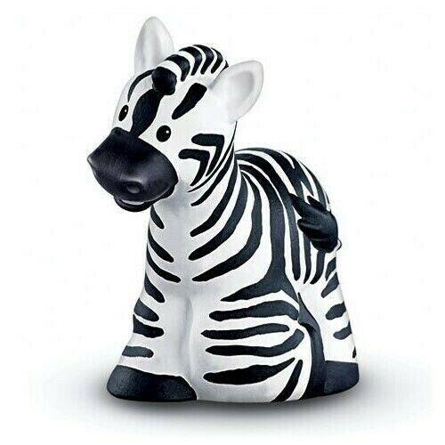Fisher-Price Little People Zebra Tier Zoo Wildleben Safari Abbildung Spielzeug image 3